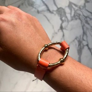 NWT leather bracelet from Bloomingdale's